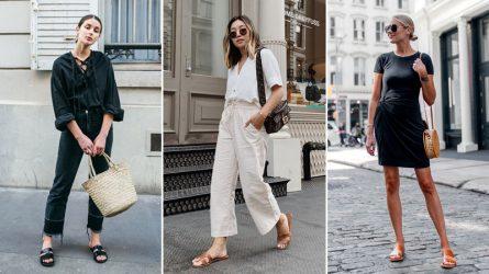 Mặc đẹp từ nhà ra phố với 4 kiểu dép nữ