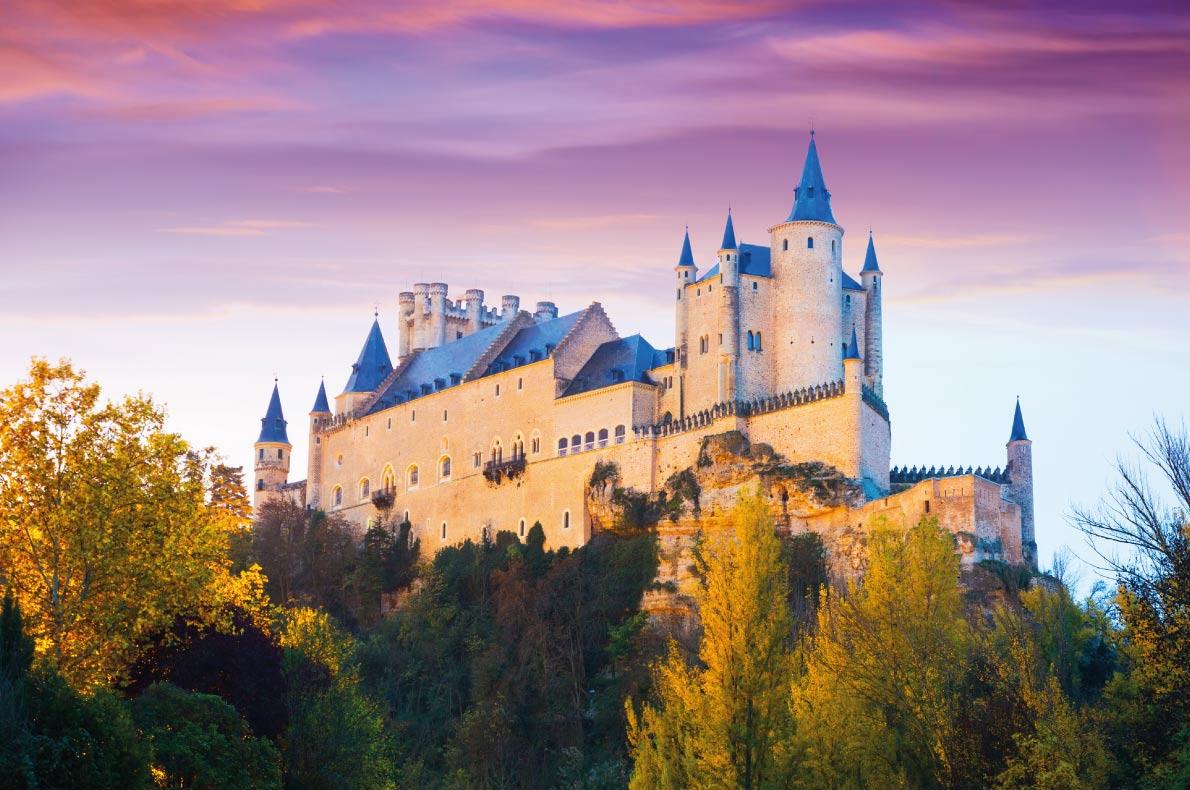 châu âu Alcazar Castle