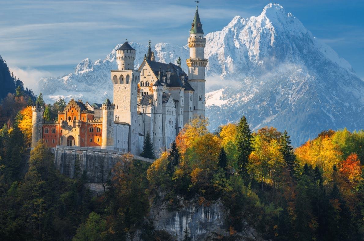 Neuschwanstein Castle đức