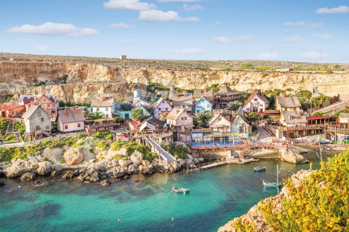 Làng Popeye - Malta
