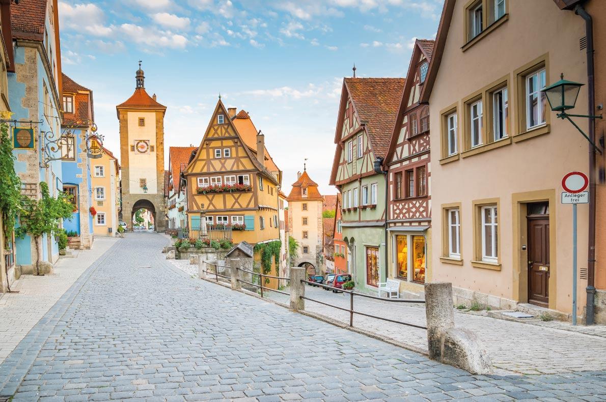 châu âu Rothenburg-ob-der-Tauber - Đức