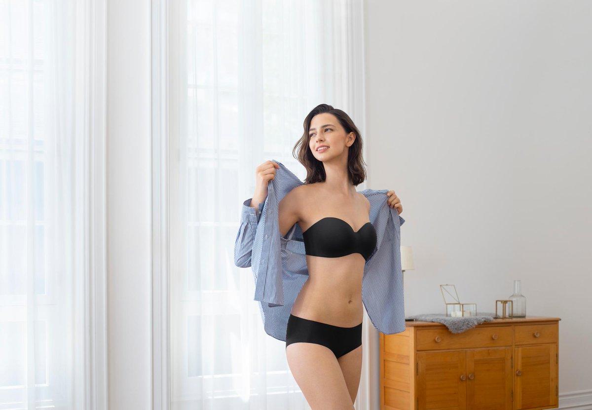Áo ngực không gọng đen Marie Jo
