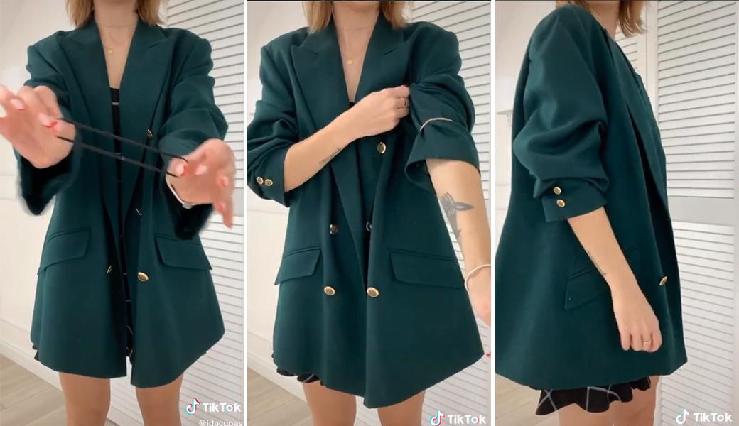Mặc đẹp với blazer oversized