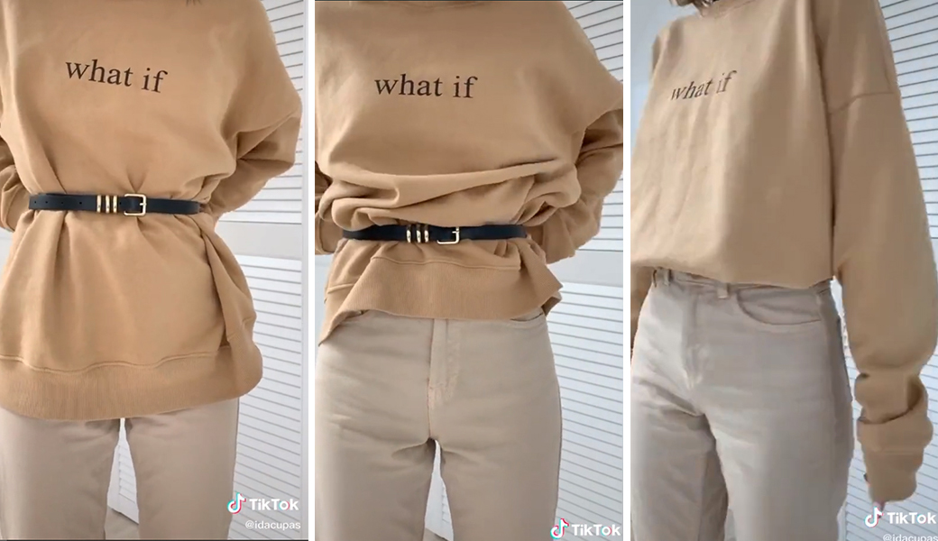 Mặc đẹp với sweater oversized