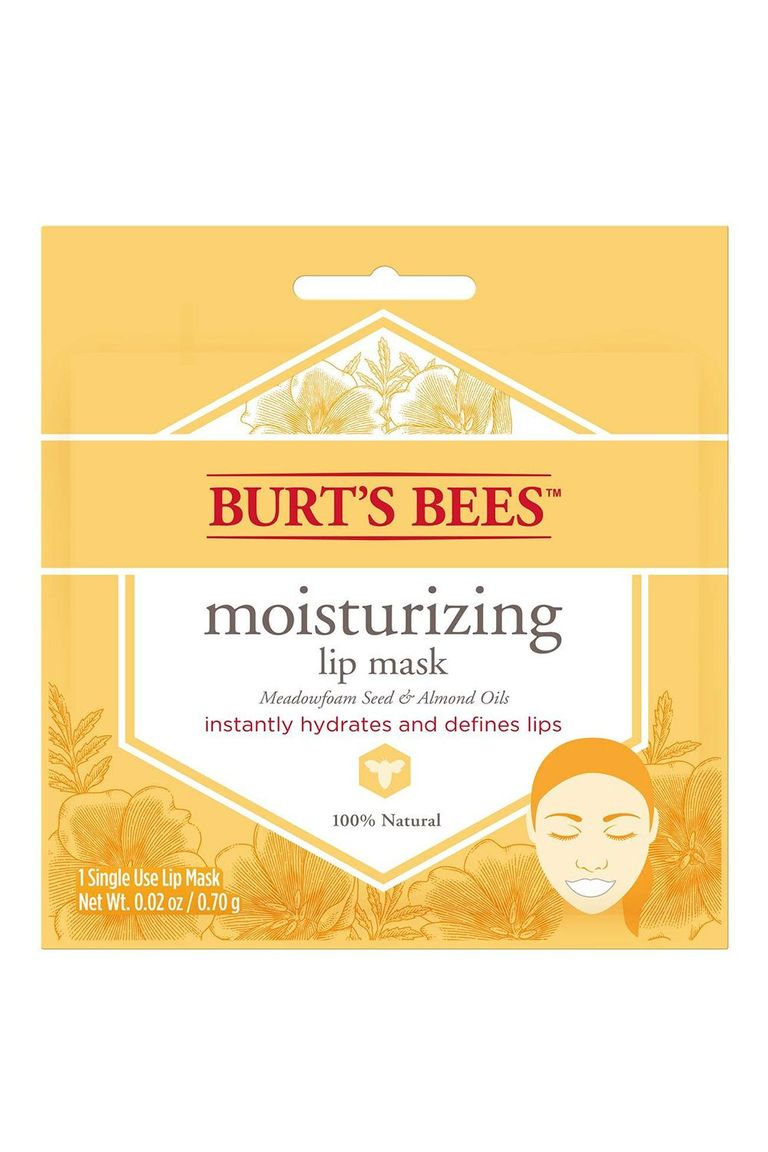Mặt nạ môi Burt's Bees Moisturizing Lip Mask.