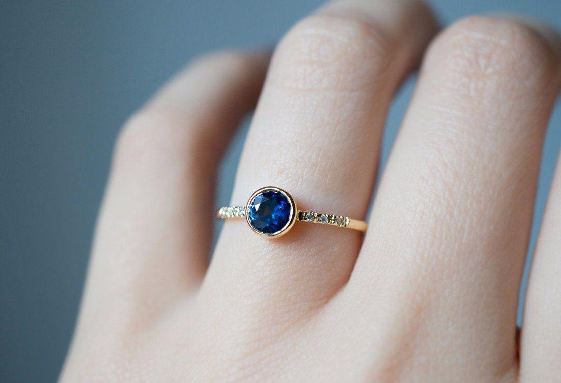 chọn trang sức đá sapphire theo cung hoàng đạo Xử nữ