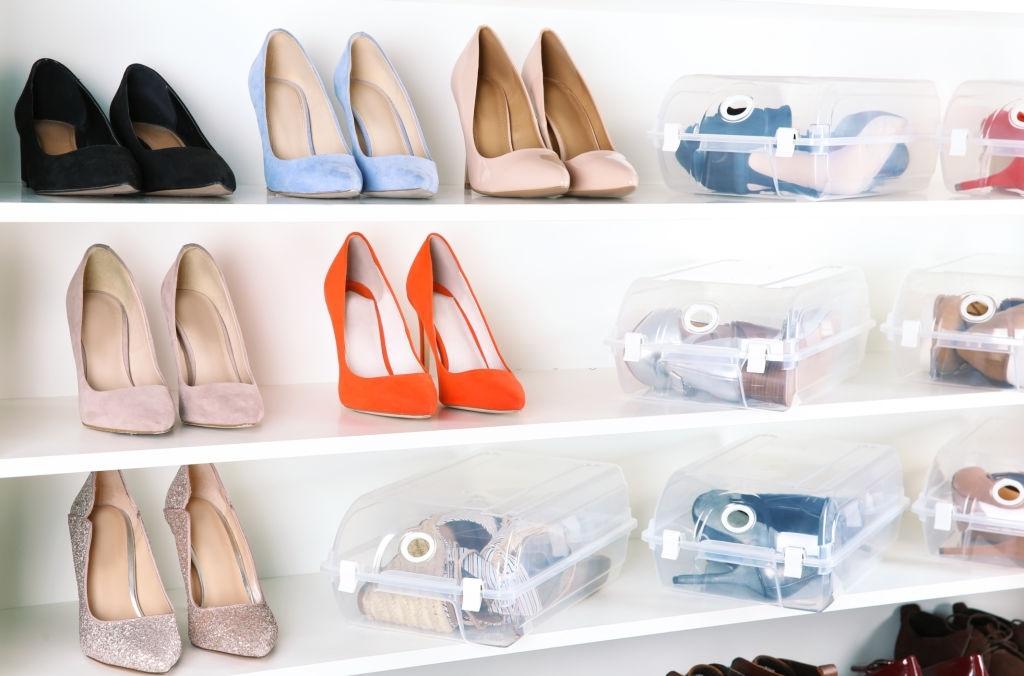 bảo quản đồ da với hộp giày