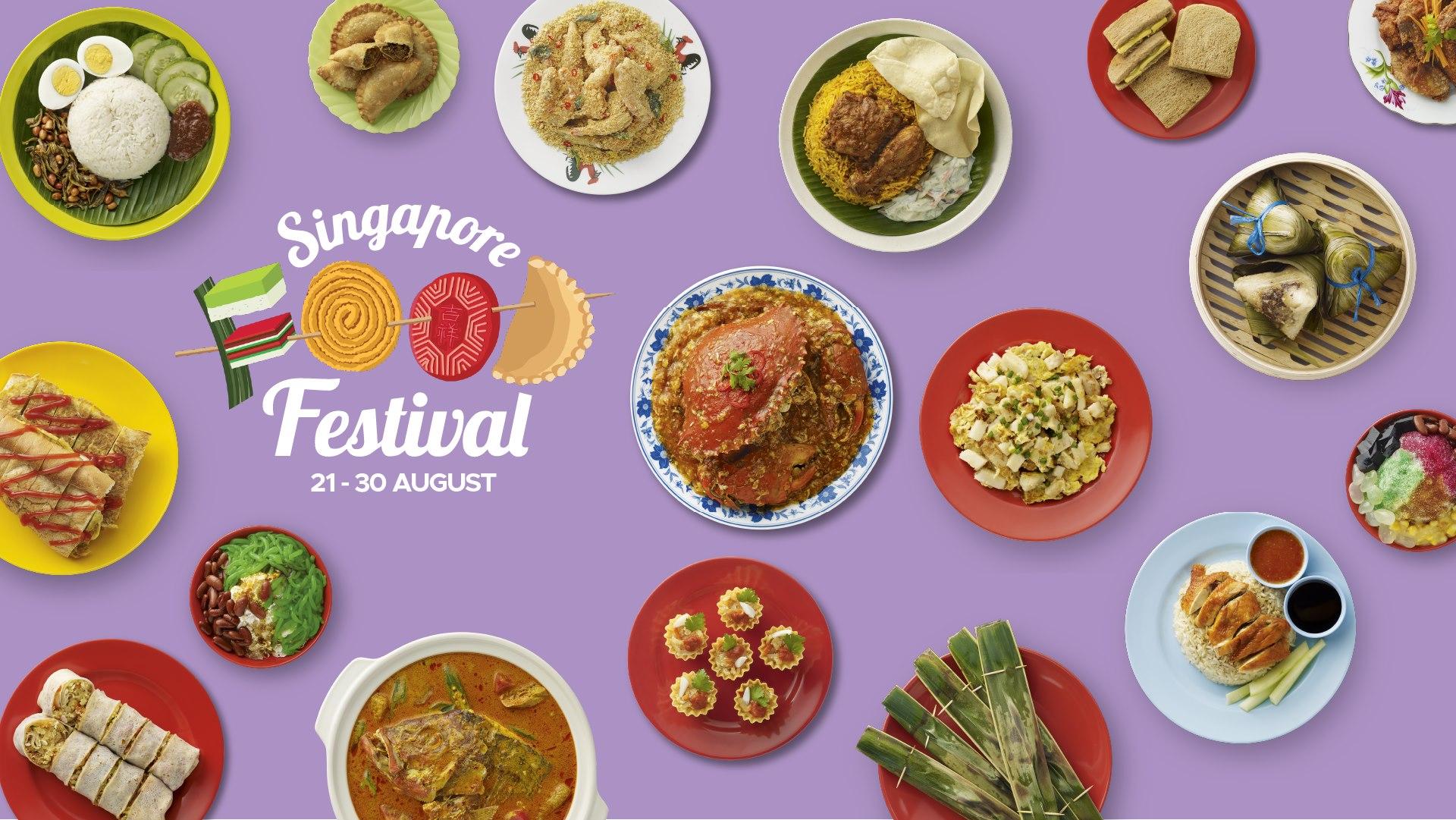 Các món ăn tại Lễ hội ẩm thực Singapore 2020