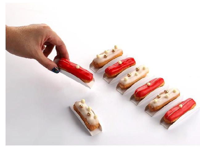 bánh éclair của Cheryl Koh tại Lễ hội ẩm thực singapore 2020