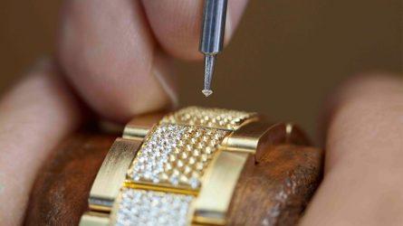 Nghệ thuật đính đá quý của Rolex: Tinh khiết và sáng ngời