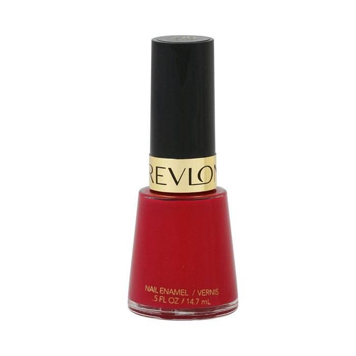 sơn móng tay đỏ revlon