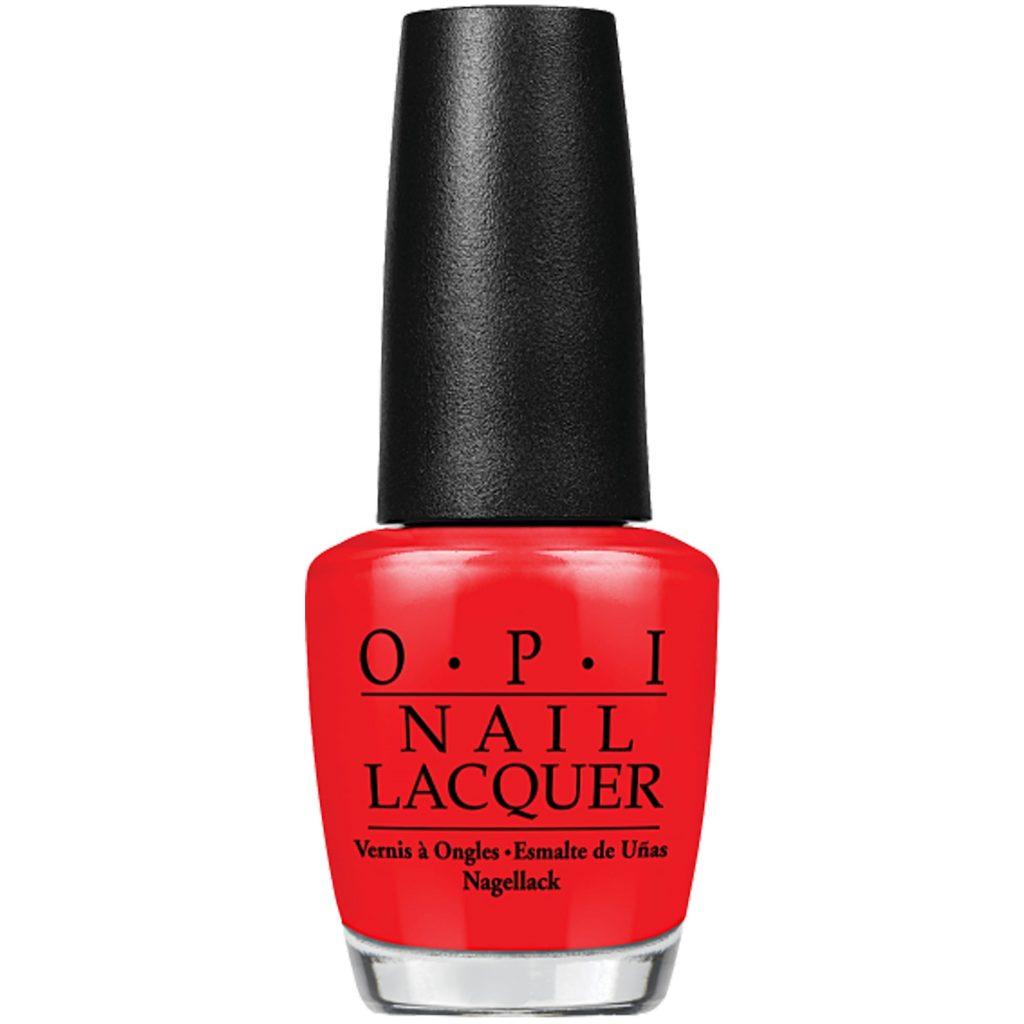 sơn móng tay đỏ opi
