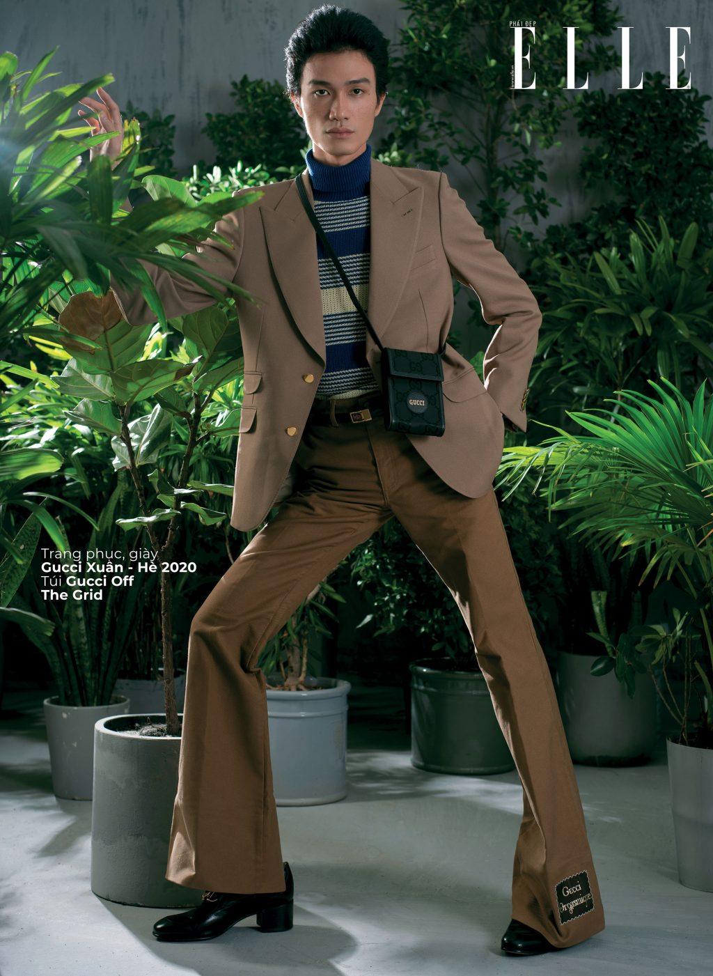 Gucci Off The Grid trang phục cho nam