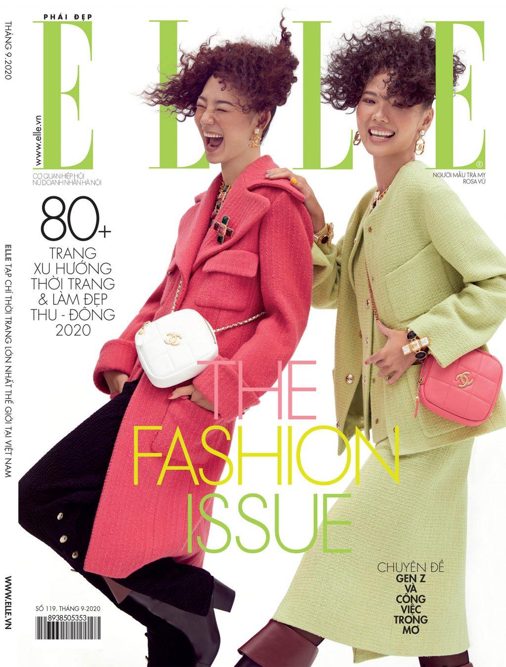 Tạp chí Phái đẹp ELLE số báo thời trang