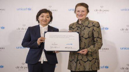 Clé de Peau Beauté đóng góp một phần doanh thu toàn cầu của sản phẩm The Serum cho UNICEF
