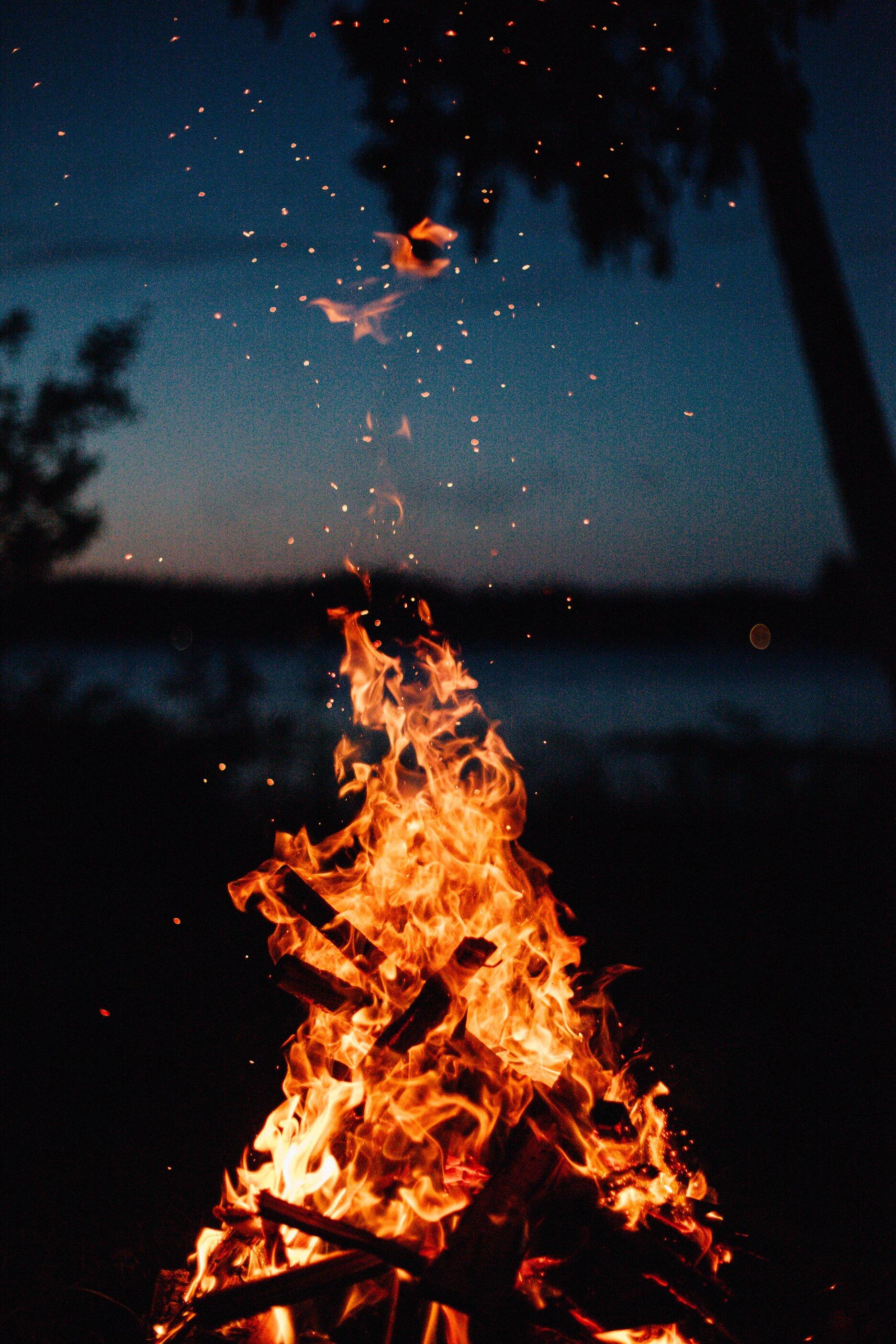 cung hoàng đạo ngọn lửa đang cháy