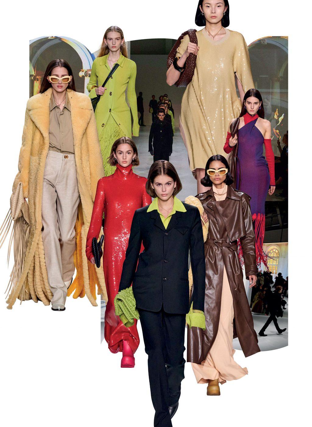 bộ sưu tập thời trang Bottega Thu Đông 2020