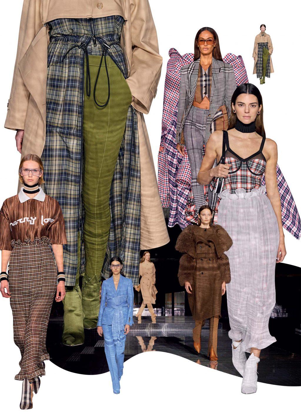 bộ sưu tập thời trang Burberry Thu Đông 2020
