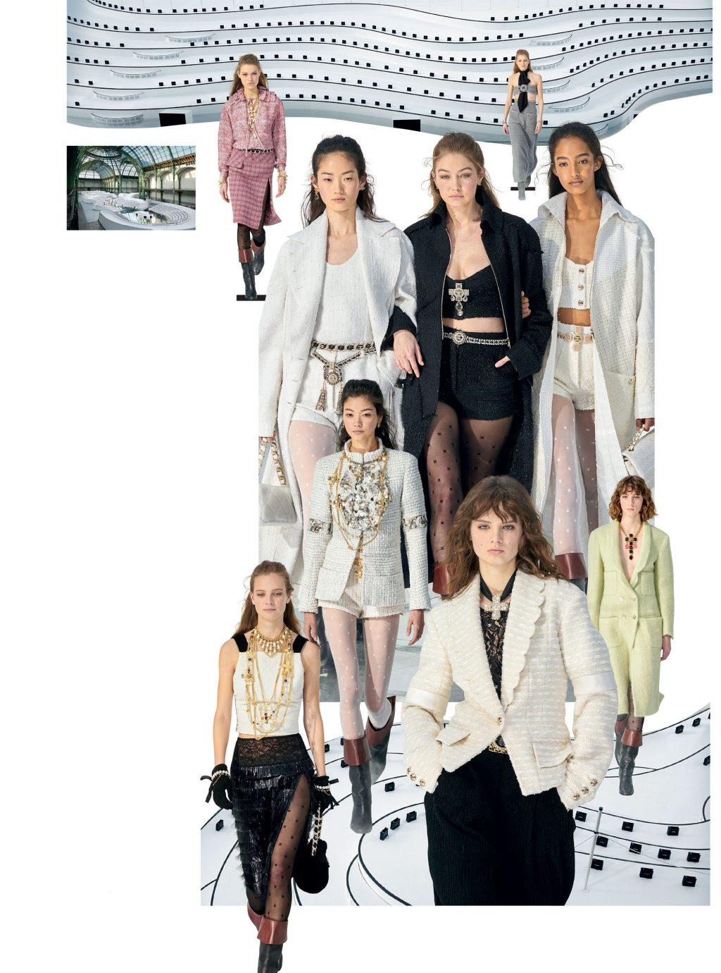 bộ sưu tập thời trang Chanel Thu Đông 2020