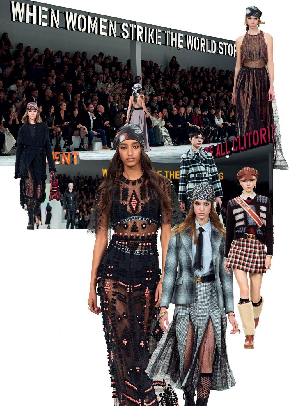 bộ sưu tập thời trang Dior Thu Đông 2020