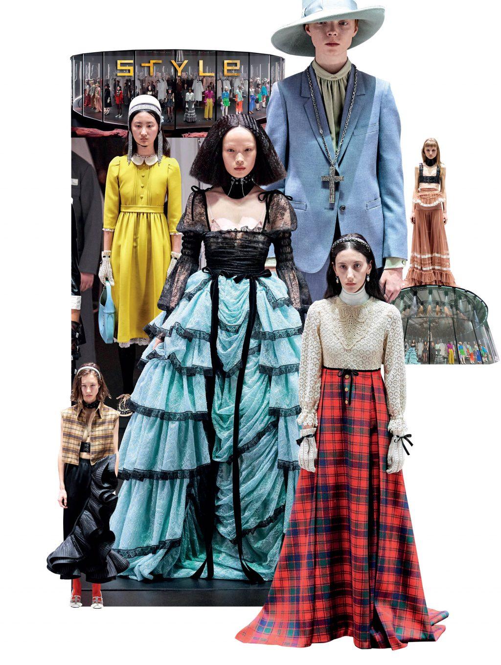 bộ sưu tập thời trang Gucci Thu Đông 2020