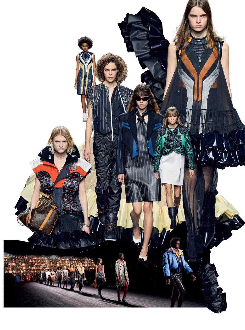 bộ sưu tập thời trang Louis Vuitton Thu Đông 2020