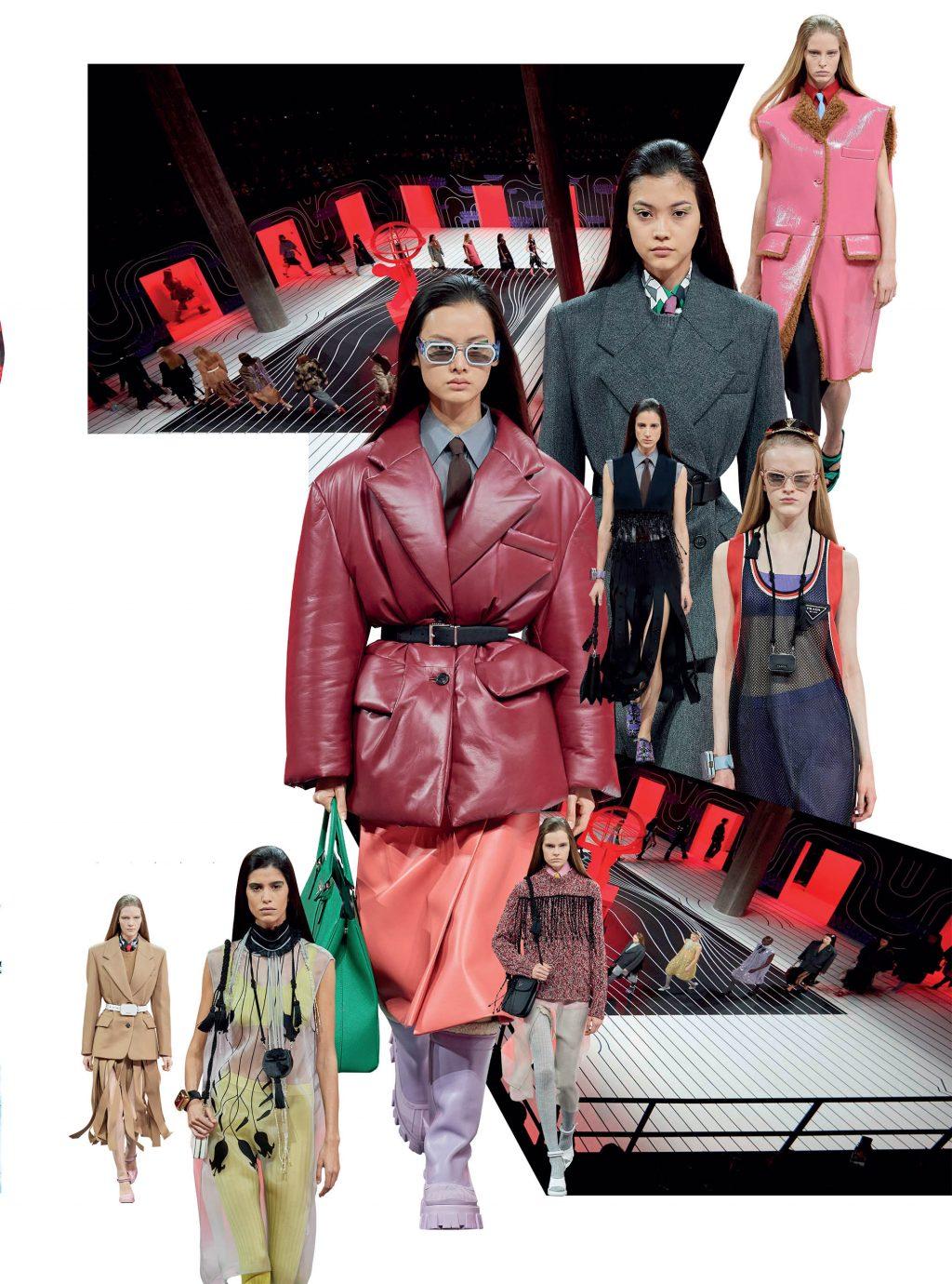 bộ sưu tập thời trang Prada Thu Đông 2020