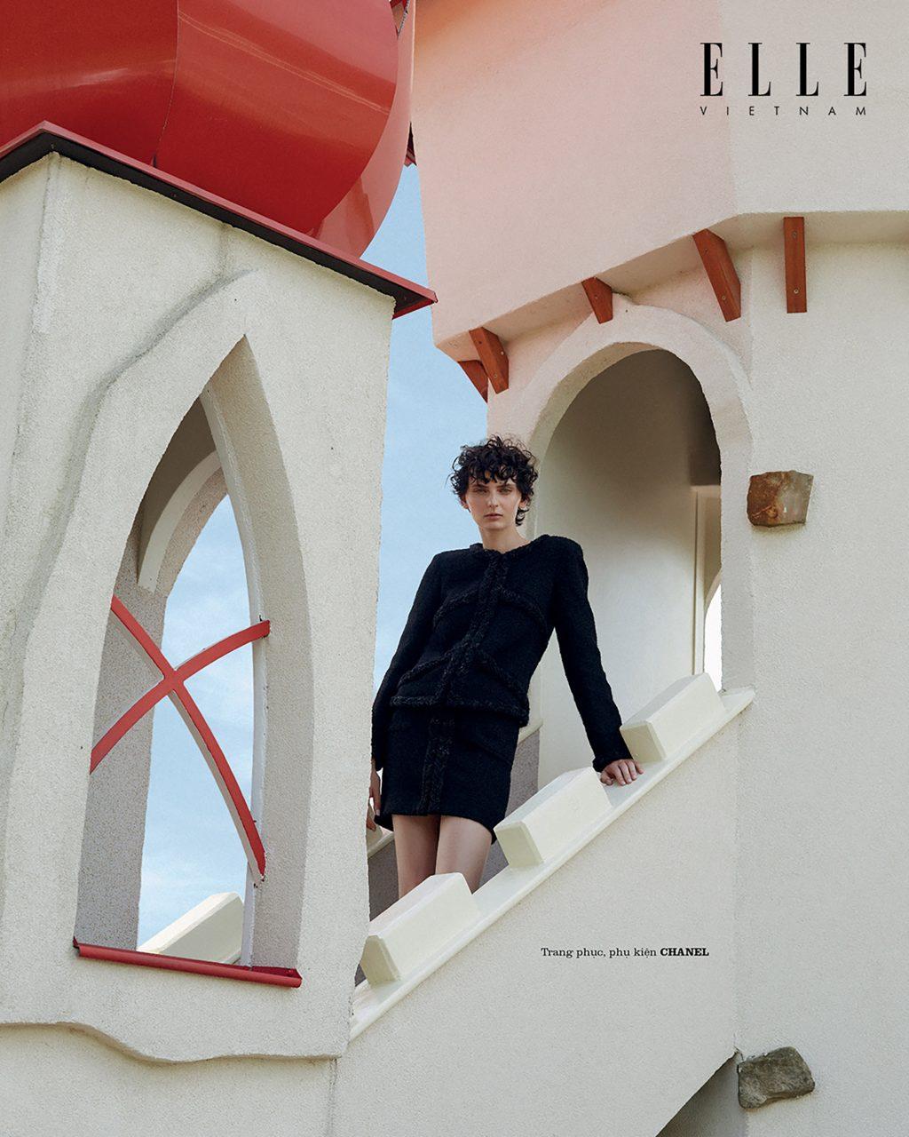 bộ ảnh thời trang wonderland trang phục phụ kiện Chanel