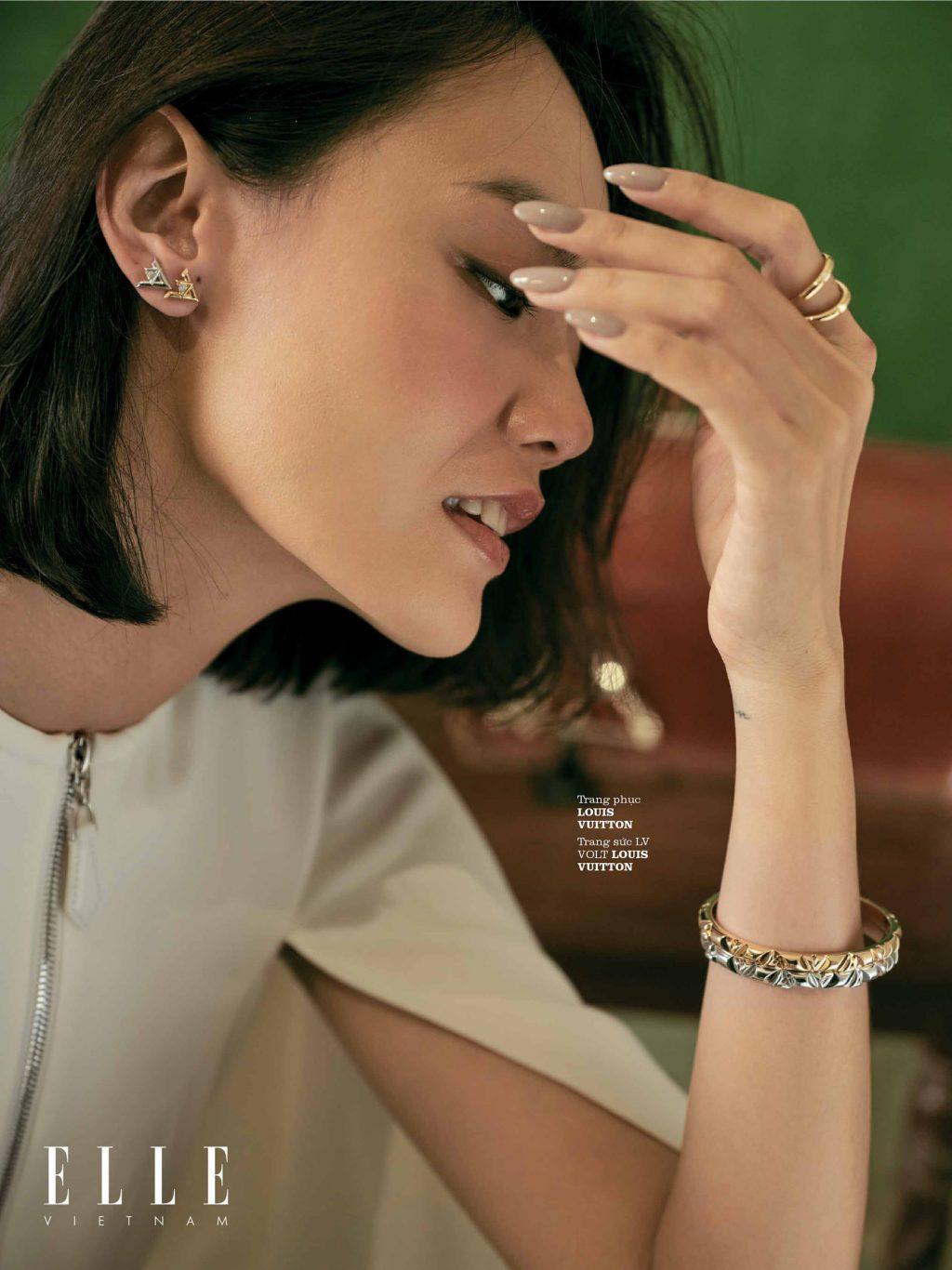 bộ ảnh thời trang trang sức Louis Vuitton