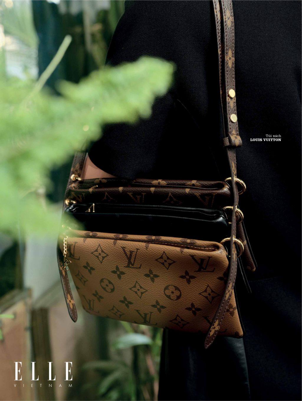 bộ ảnh thời trang túi xách kinh điển của Louis Vuitton