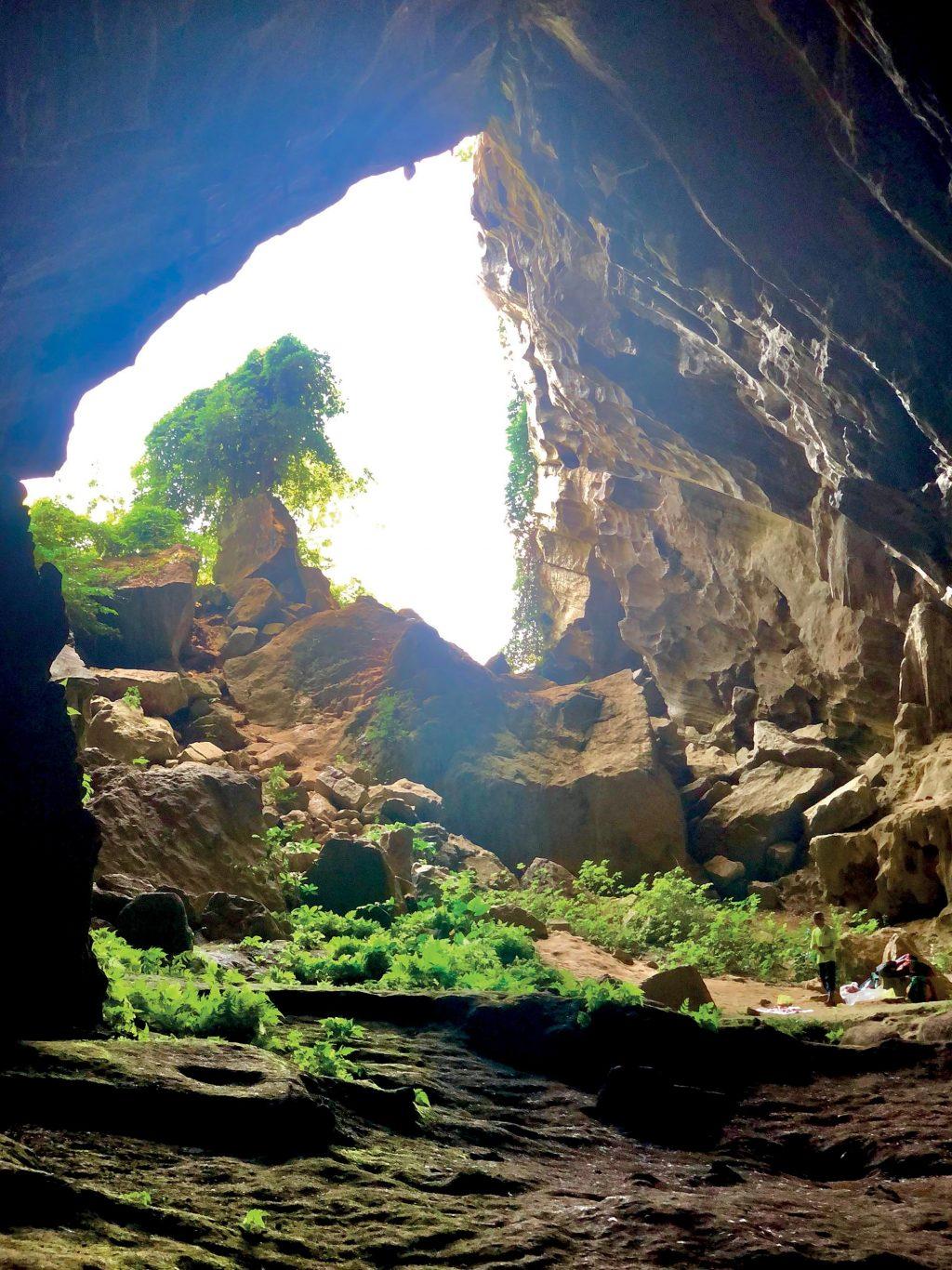 hang động hệ thống hang động