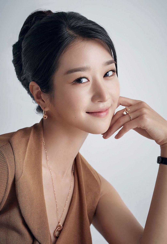 Seo Ye Ji sở hữu glass skin