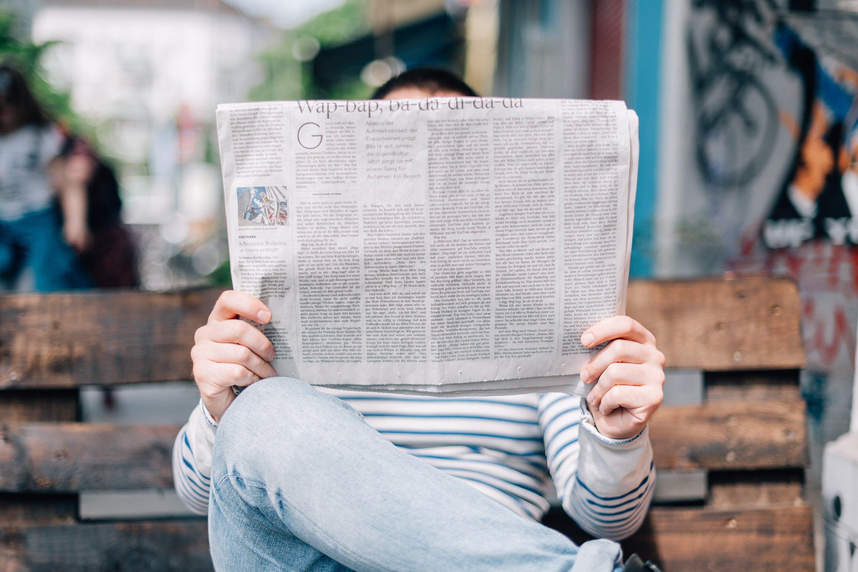đọc tin tức nỗi sợ OCD