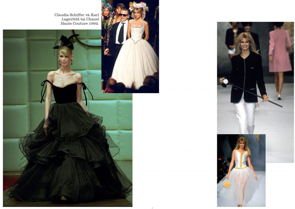 thời trang triển lãm ảnh siêu mẫu Claudia Schiffer