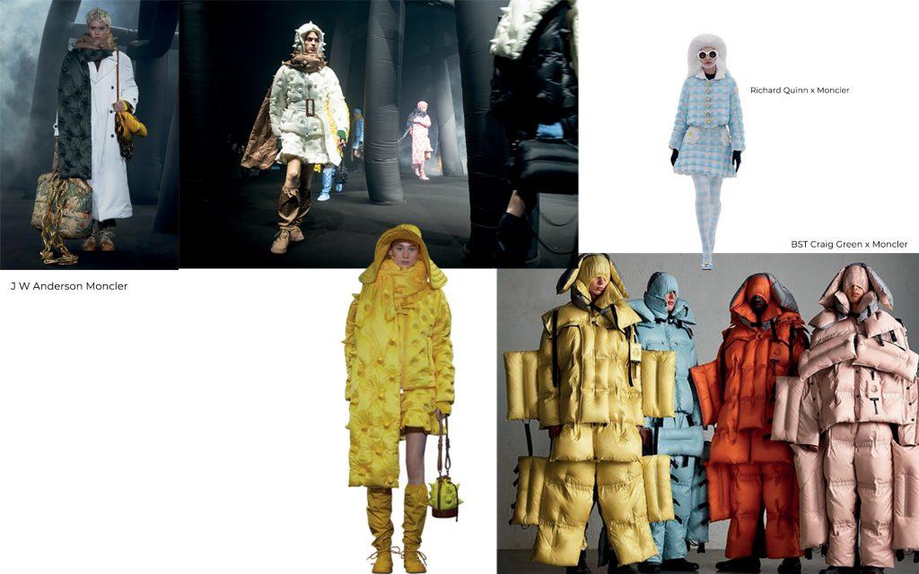 thời trang dự án mới của Moncler