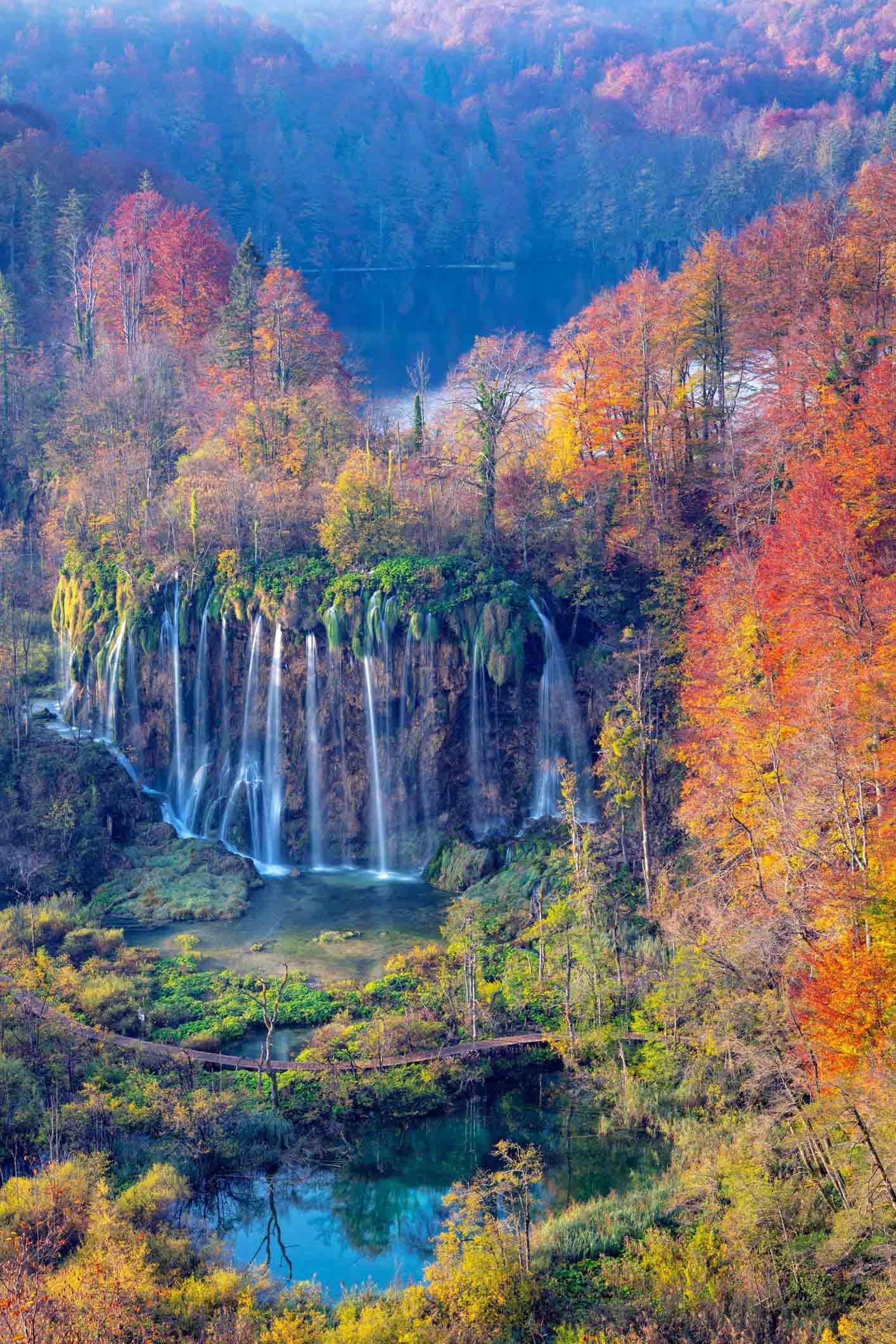 mùa thu o croatia