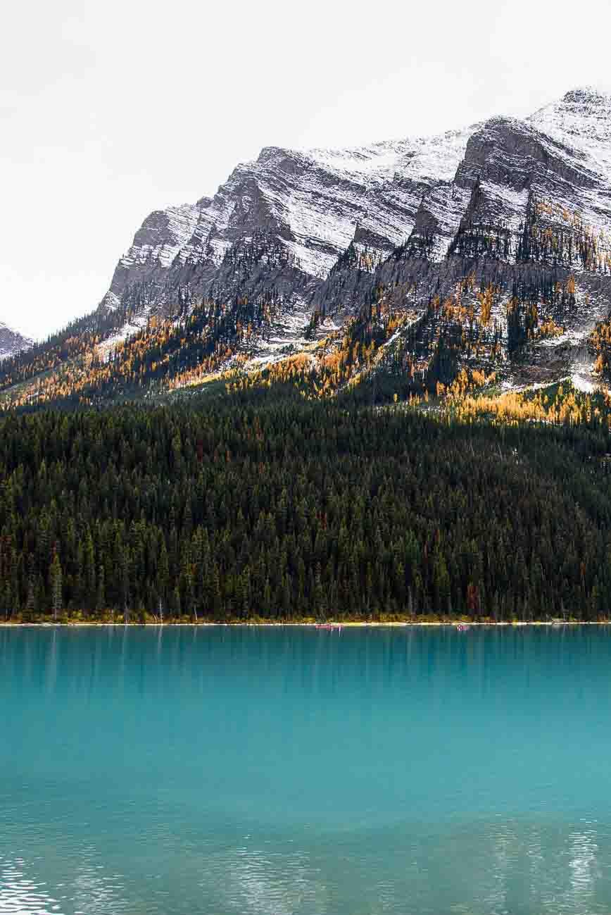 mùa thu ở hồ amerald