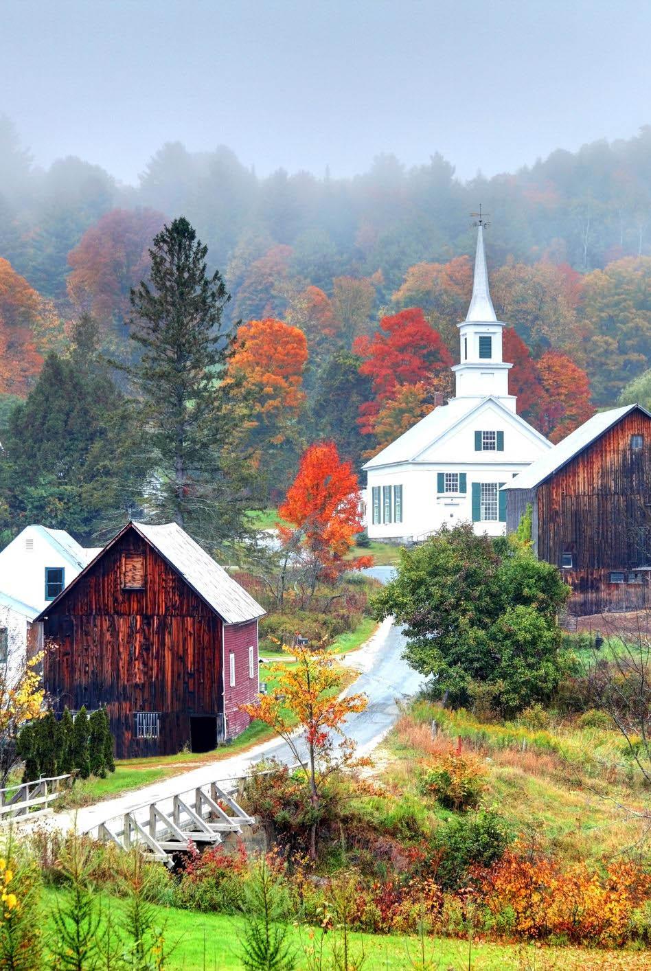 mùa thu ở vermont