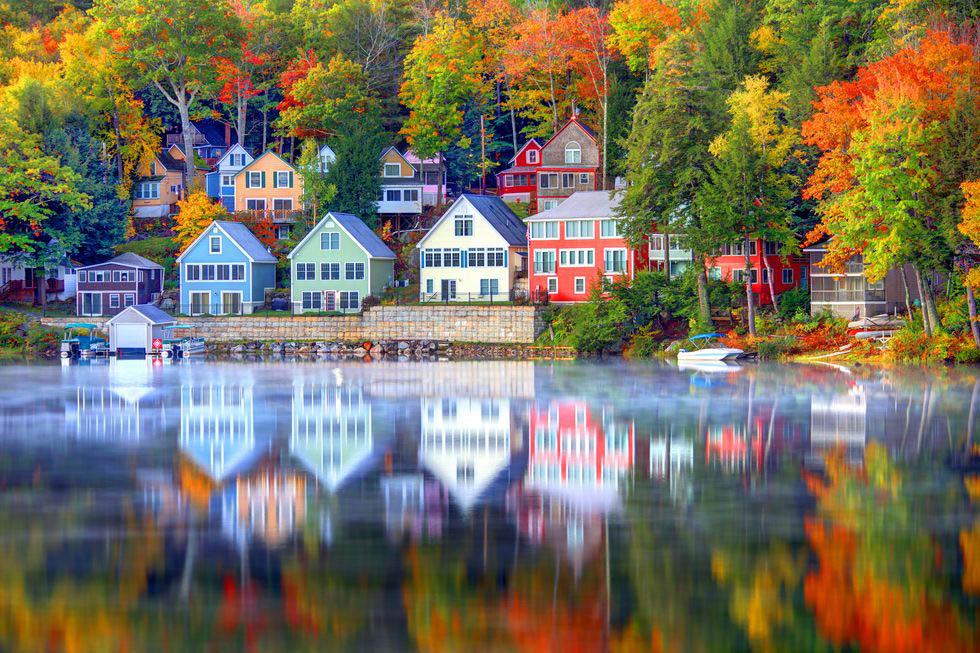 mùa thu sắc màu