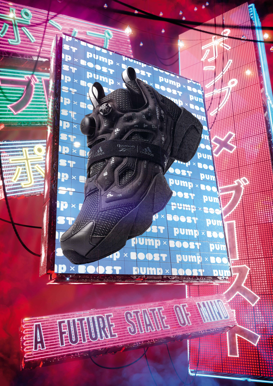 Reebok x Adidas BST Instapump Fury - Urban Night Explore