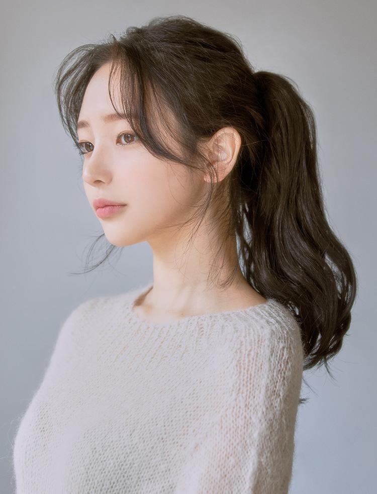 tóc mái bay Hàn Quốc