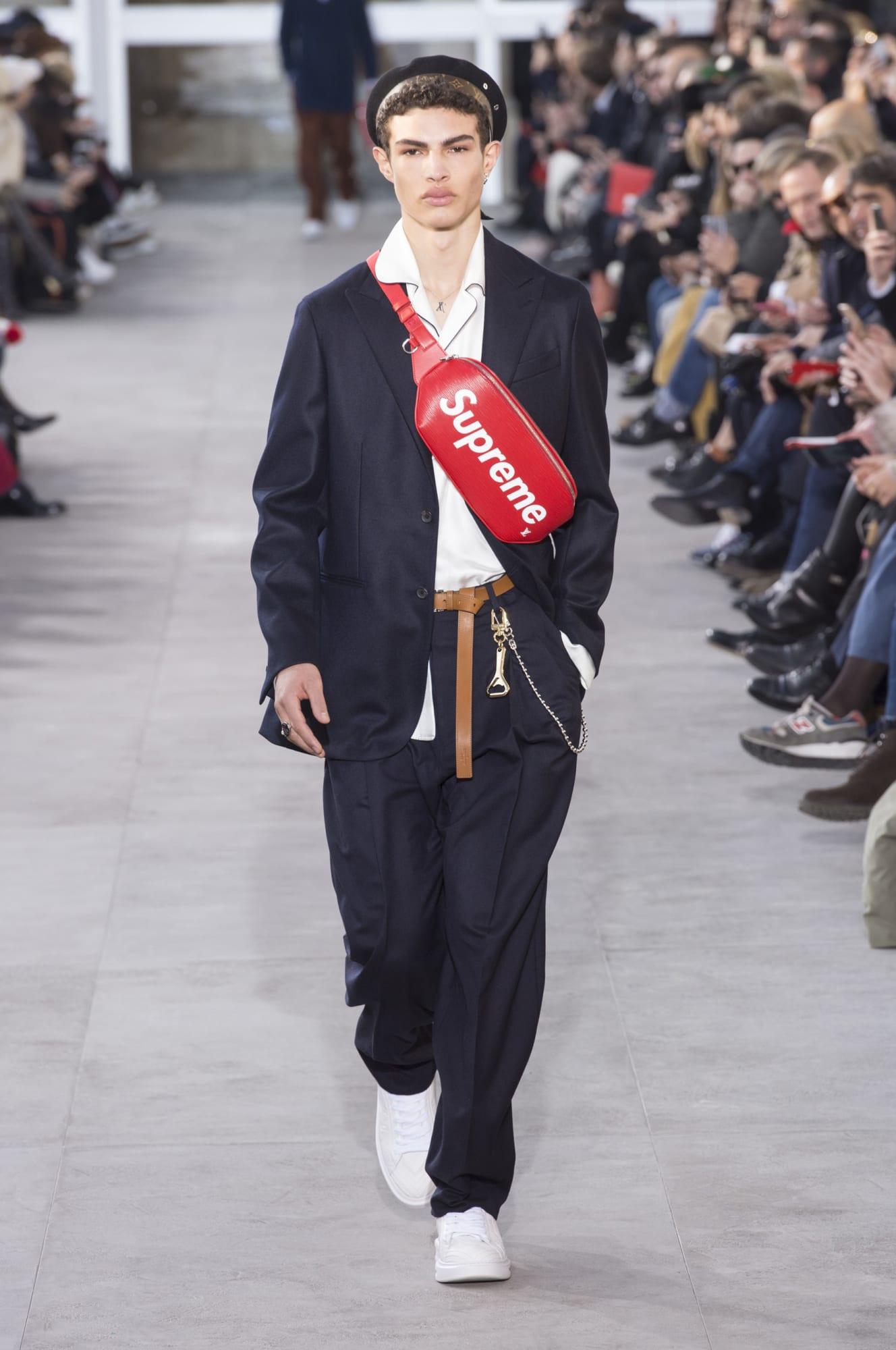 bst supreme x louis vuitton 2017 phong cách thời trang streetwear