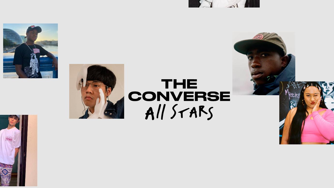 Converse nhân tộng sức ảnh hưởng cùng các thành viên sáng tạo all star