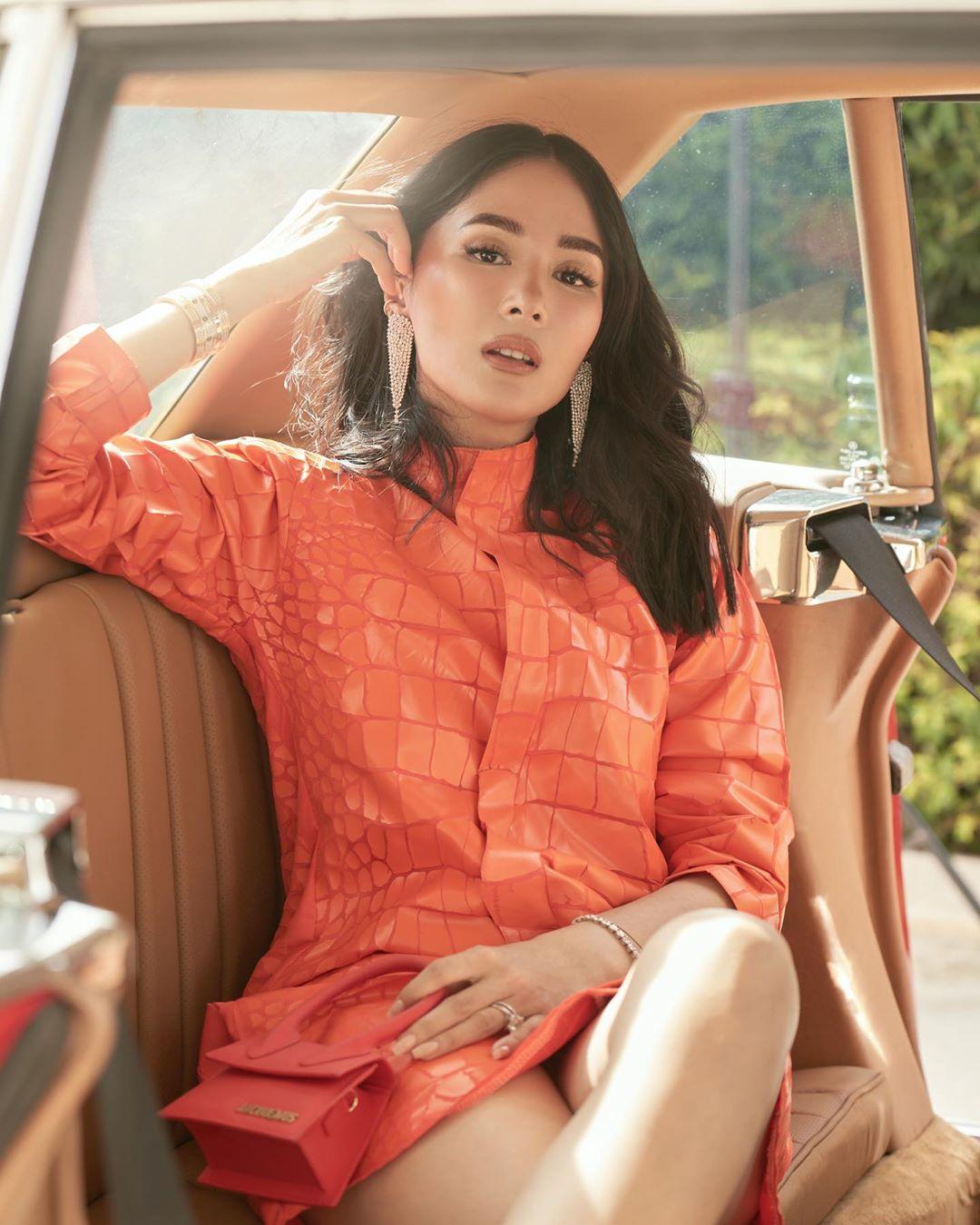 màu cam san hô thời trang 2021