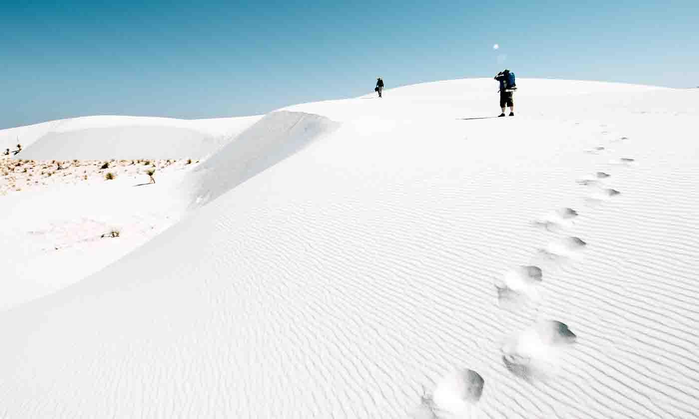 địa điểm cát trắng