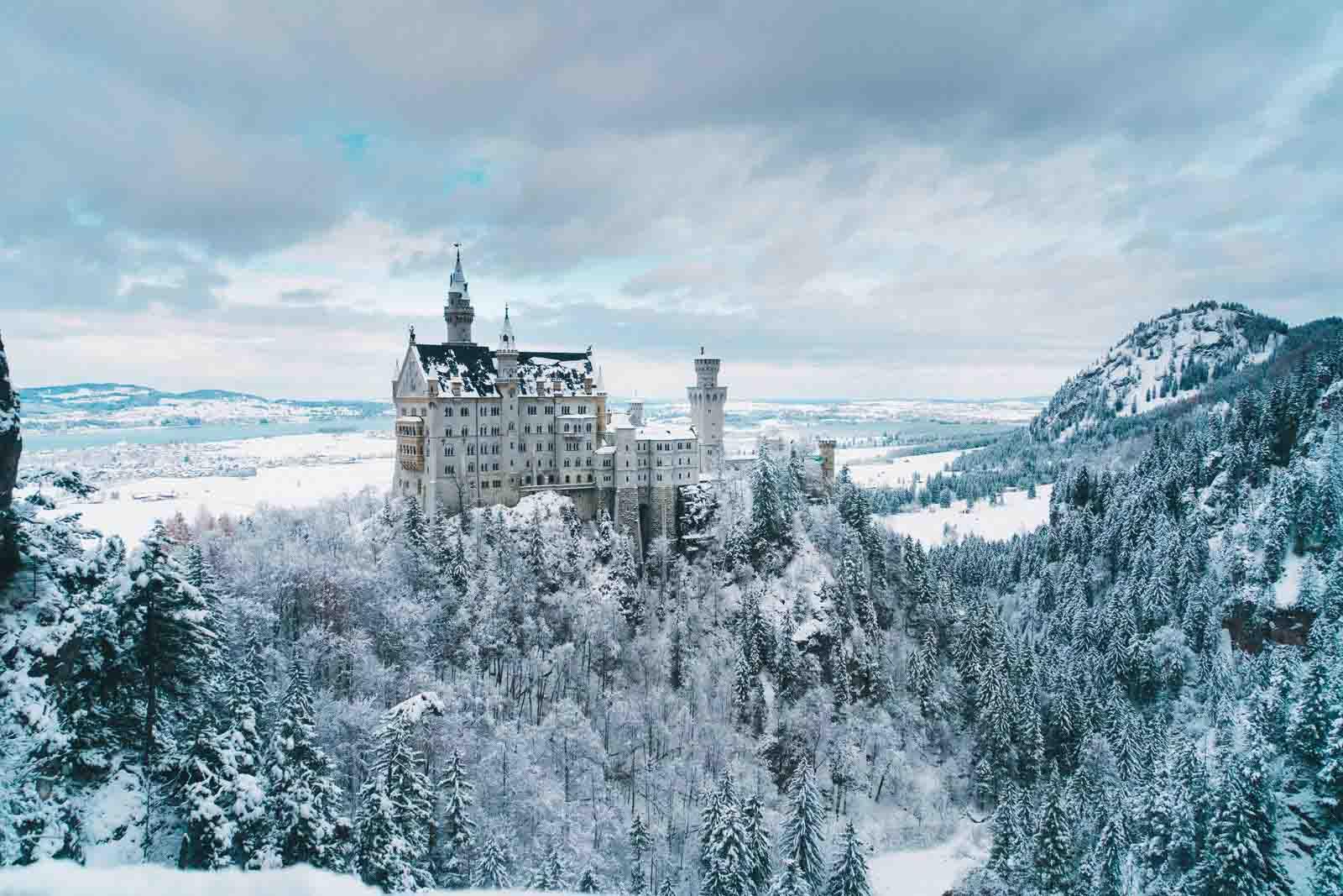 địa điểm lâu đài neuschwanstein