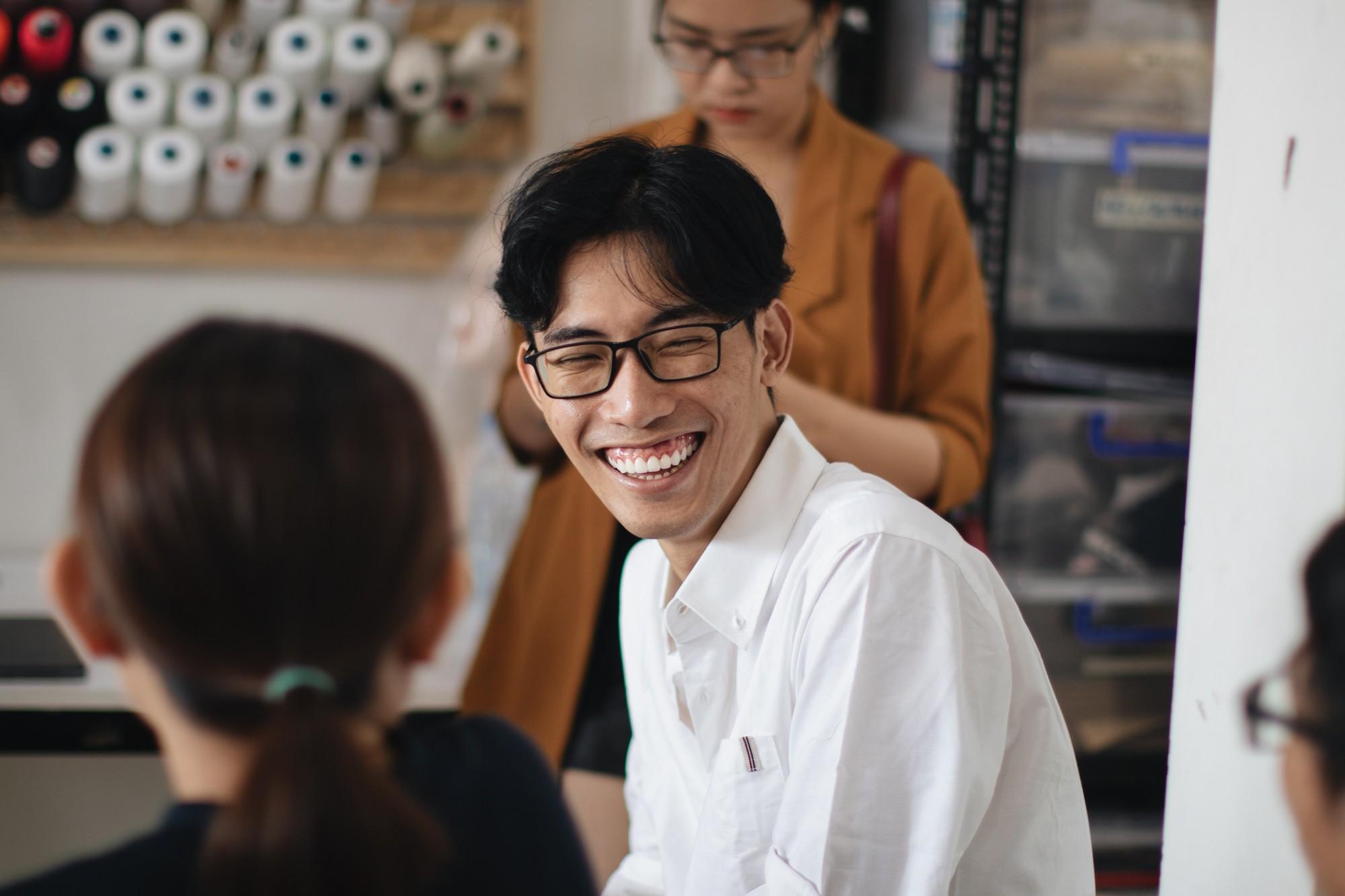 NTK Tom Trandt trong dự án với Converse Renew tại Việt Nam
