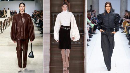 Áo tay phồng: Vẻ đẹp cổ điển khuấy động thời trang Thu - Đông 2020