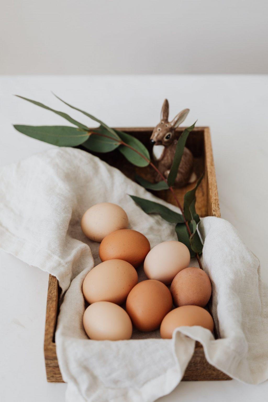 trứng gà dưỡng da