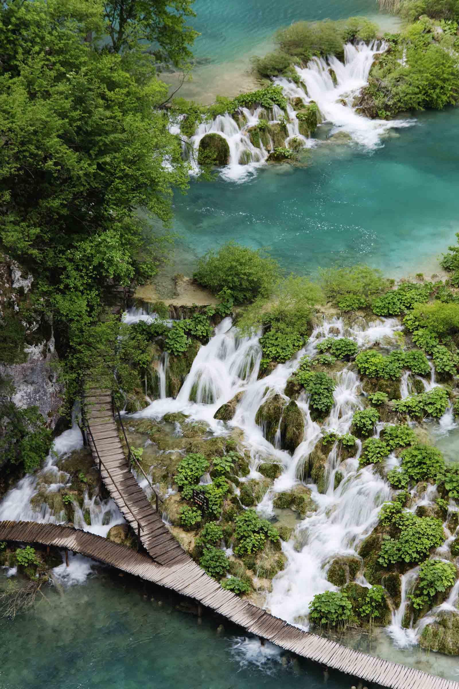 địa điểm plitvice lakes